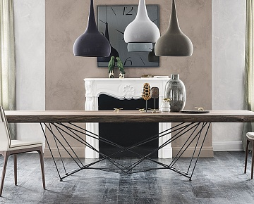 Стол Cattelan Italia  Gordon deep wood